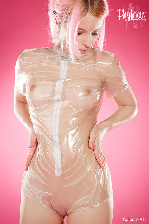 Adult erotic plastic wear