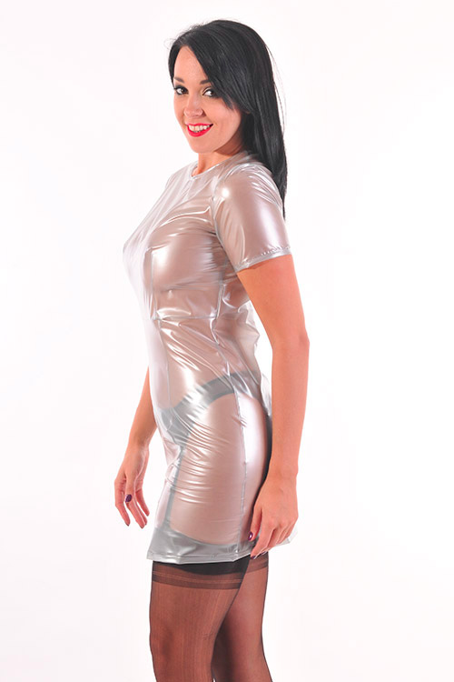 Mini-Dress Plastilicious Plastic Fetisch Wear