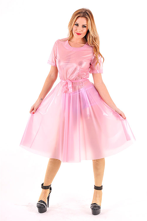 Nursery PVC Shirt Dress Plastilicious Plastic Fetisch Wear